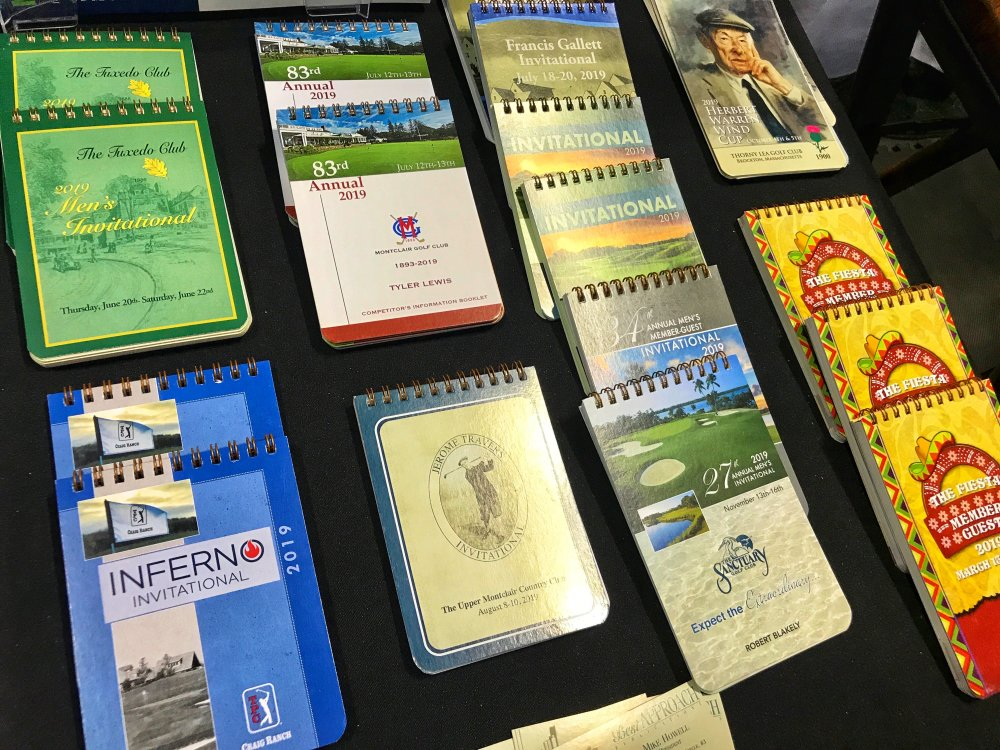 Do yardage books still have a place in golf?