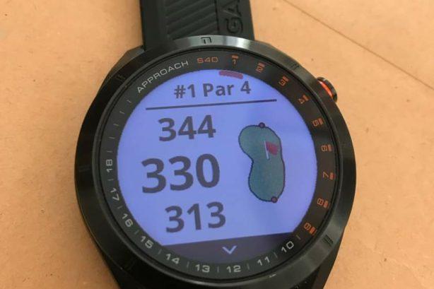 Garmin Approach S40 (Golf watch)