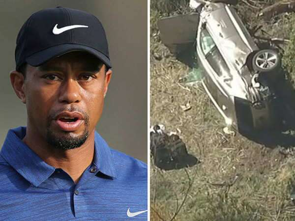 """Tiger Woods injuries include """"a shattered ankle and two leg fractures"""""""