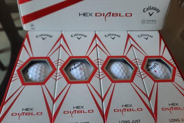 CALLAWAY HEX DIABLO Golf balls