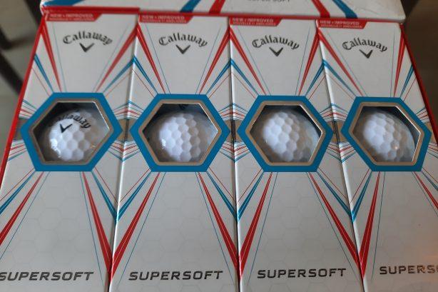 CALLAWAY SUPER SOFT Golf balls