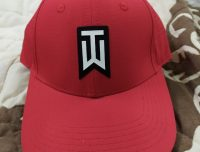 NEW Nike Tiger Woods AeroBill Classic 99 Perforated Red Fitted L/XL Hat/Cap
