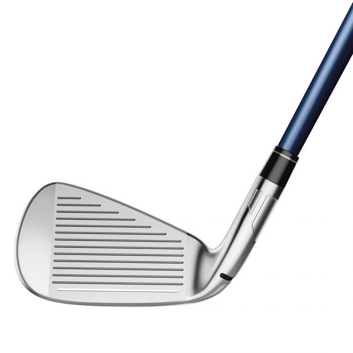 TaylorMade SIM2 Max OS Irons (4 to pw plus SW, 8 clubs in the set)