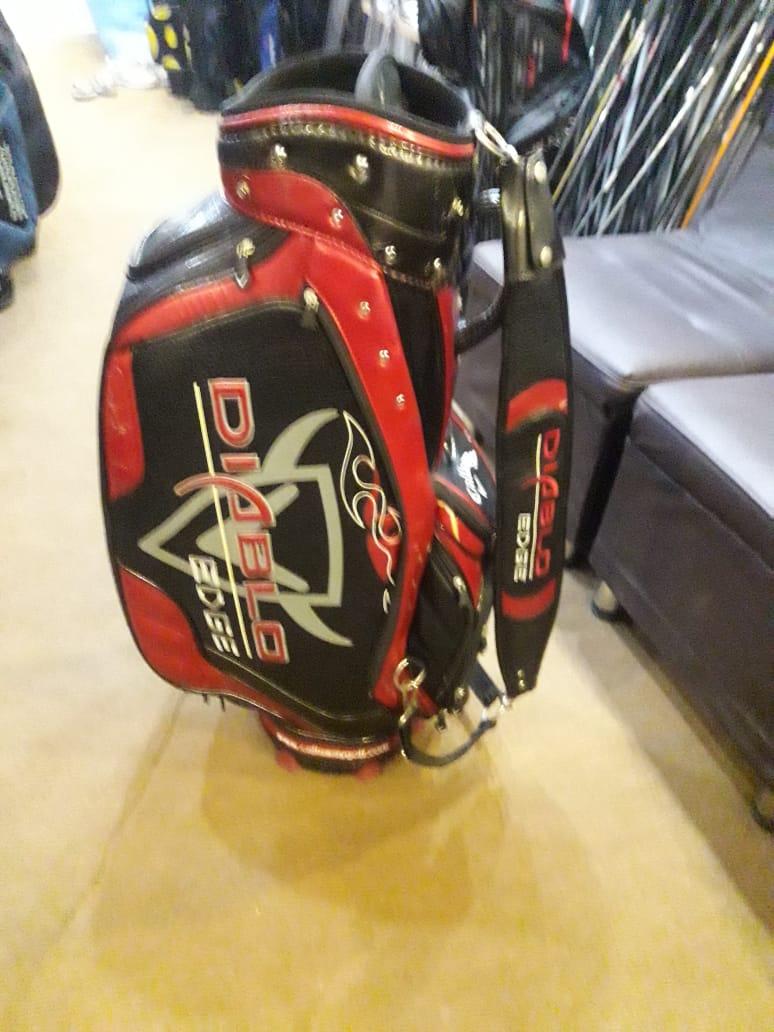 Callaway Golf Diablo Staff Bag – Tour Bag – Black Red & White