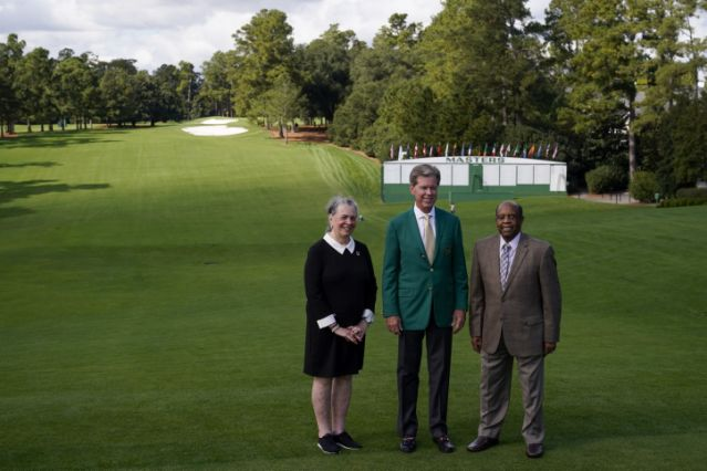 Elder Relishes Role as Honorary Starter in the Masters