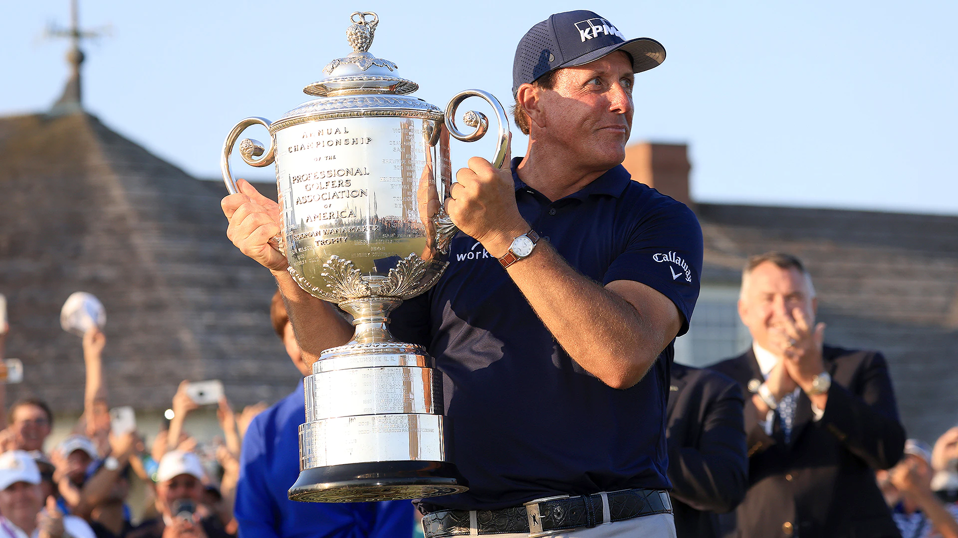 50 year old Phil Mickelson, becomes oldest major winner in history with PGA Championship victory