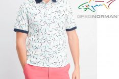 ATTACK LIFE BY GREG NORMAN – PRINTED POLOS – BRAND NEW