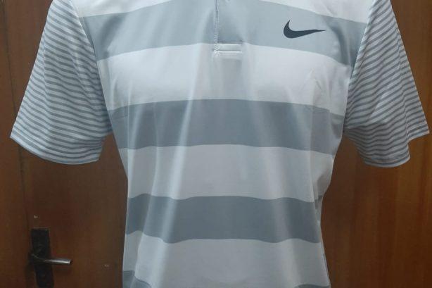 Nike Men's Dry Bold Stripe Golf Polo