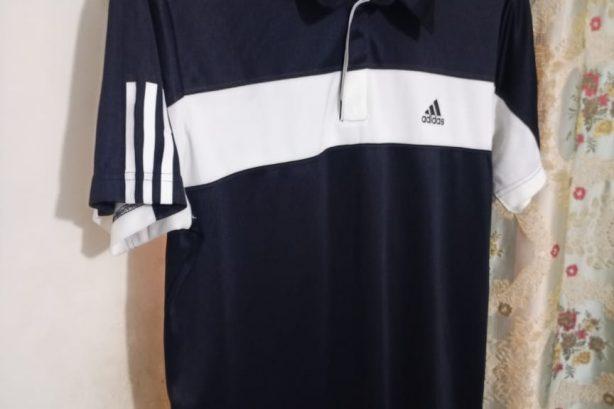 Adidas Men's Golf Shirt – Black/White