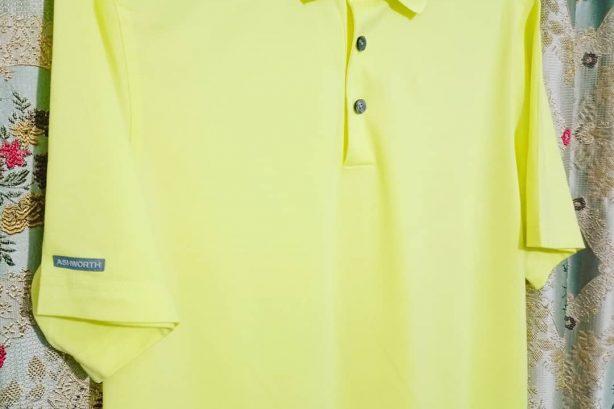 Ashworth Golf Shirt – Yellow