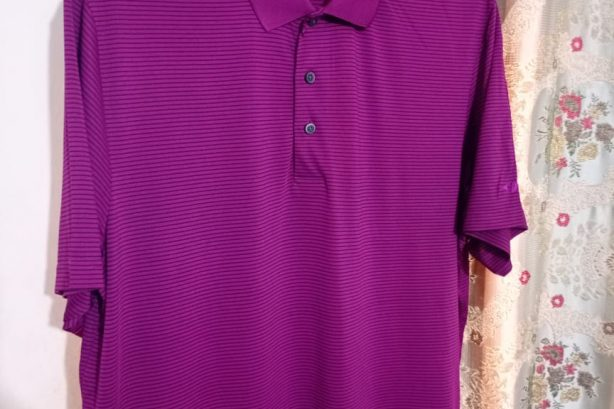 Grandslam Golf Shirt – Purple