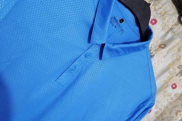 Nike Golf Shirt – Blue