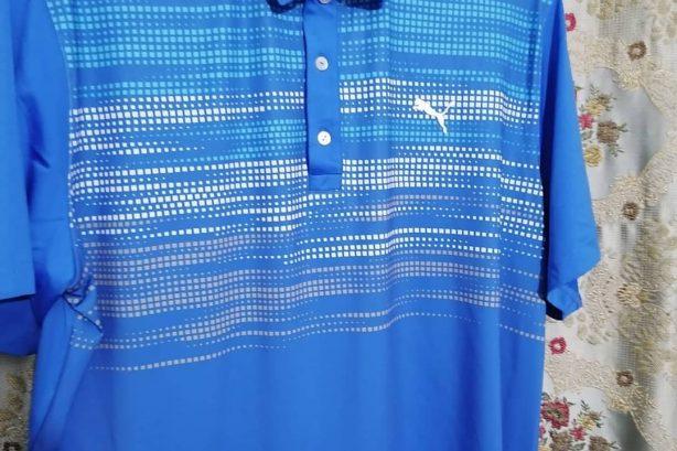 Puma Golf Shirt – Blue