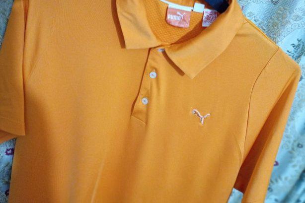 Puma Golf Shirt – Orange