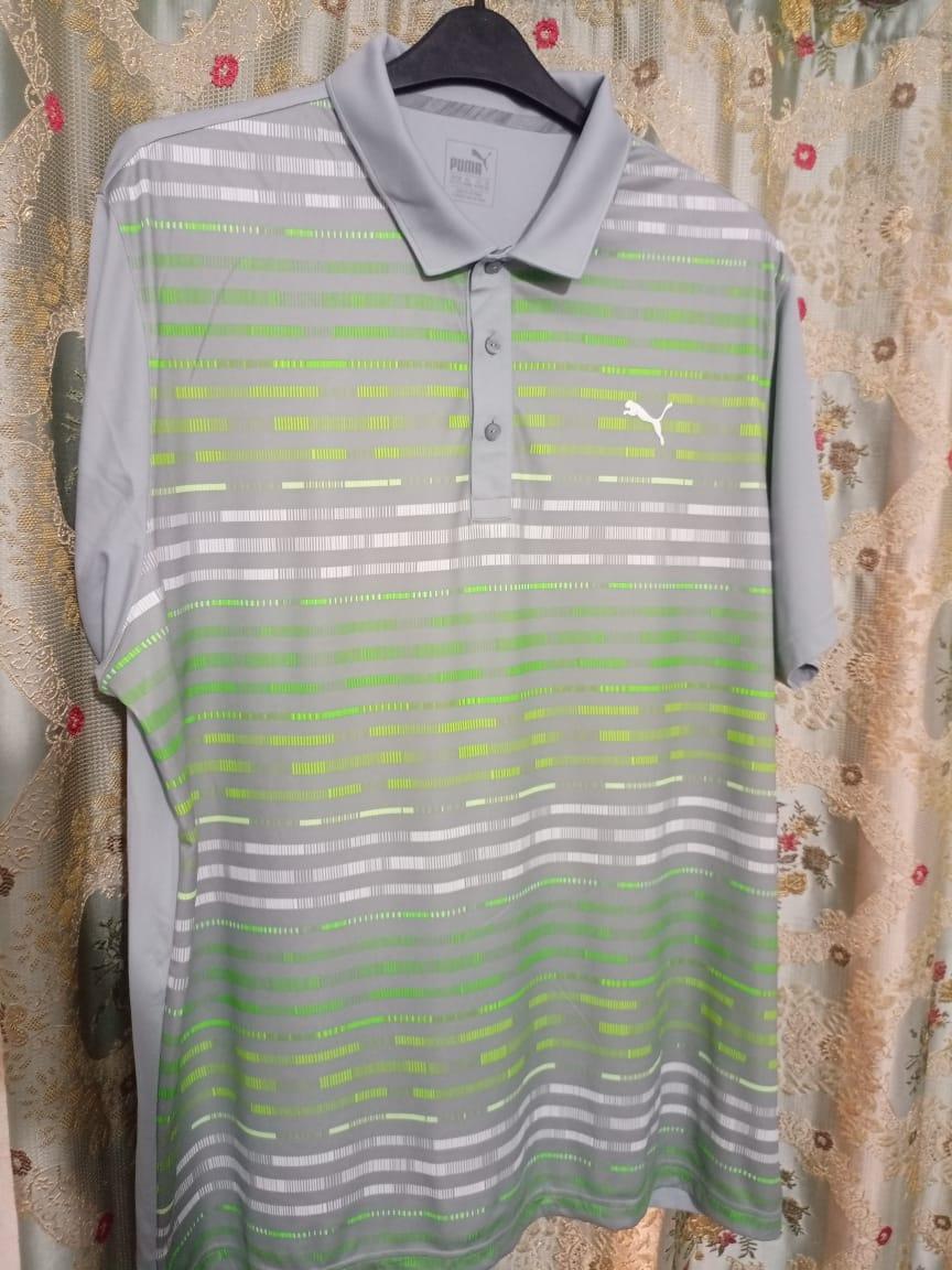 Puma Golf Shirt – Stripes