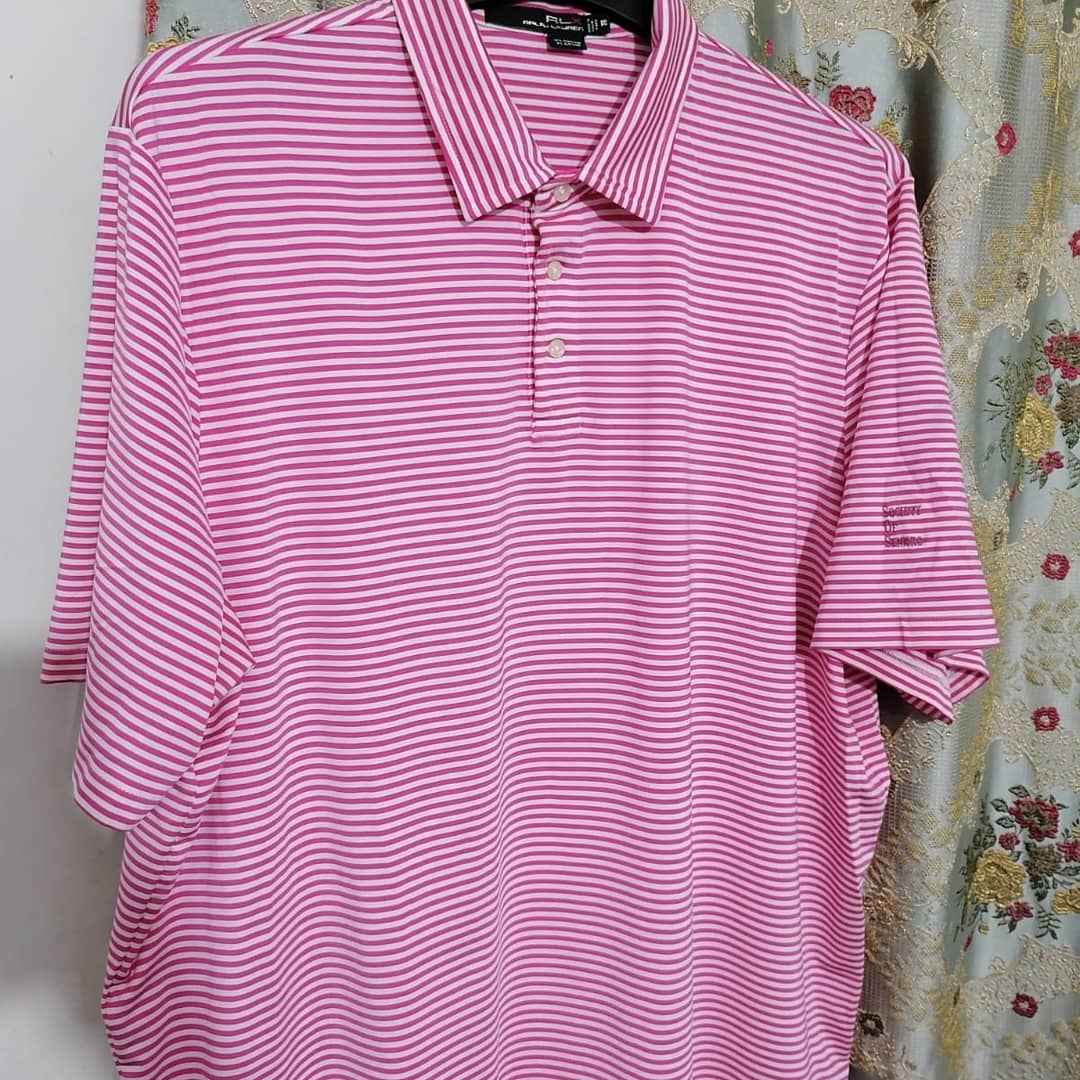 Men's RLX Golf Shirt – Pink