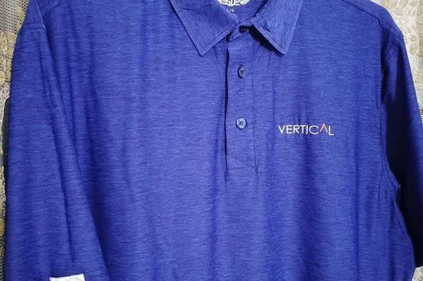 Straight Down Golf polo shirt