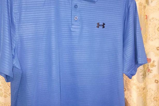Under Armour  Golf Shirt – Blue