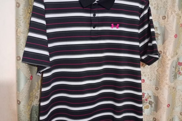 Under Armour  Golf Shirt (Stripe)