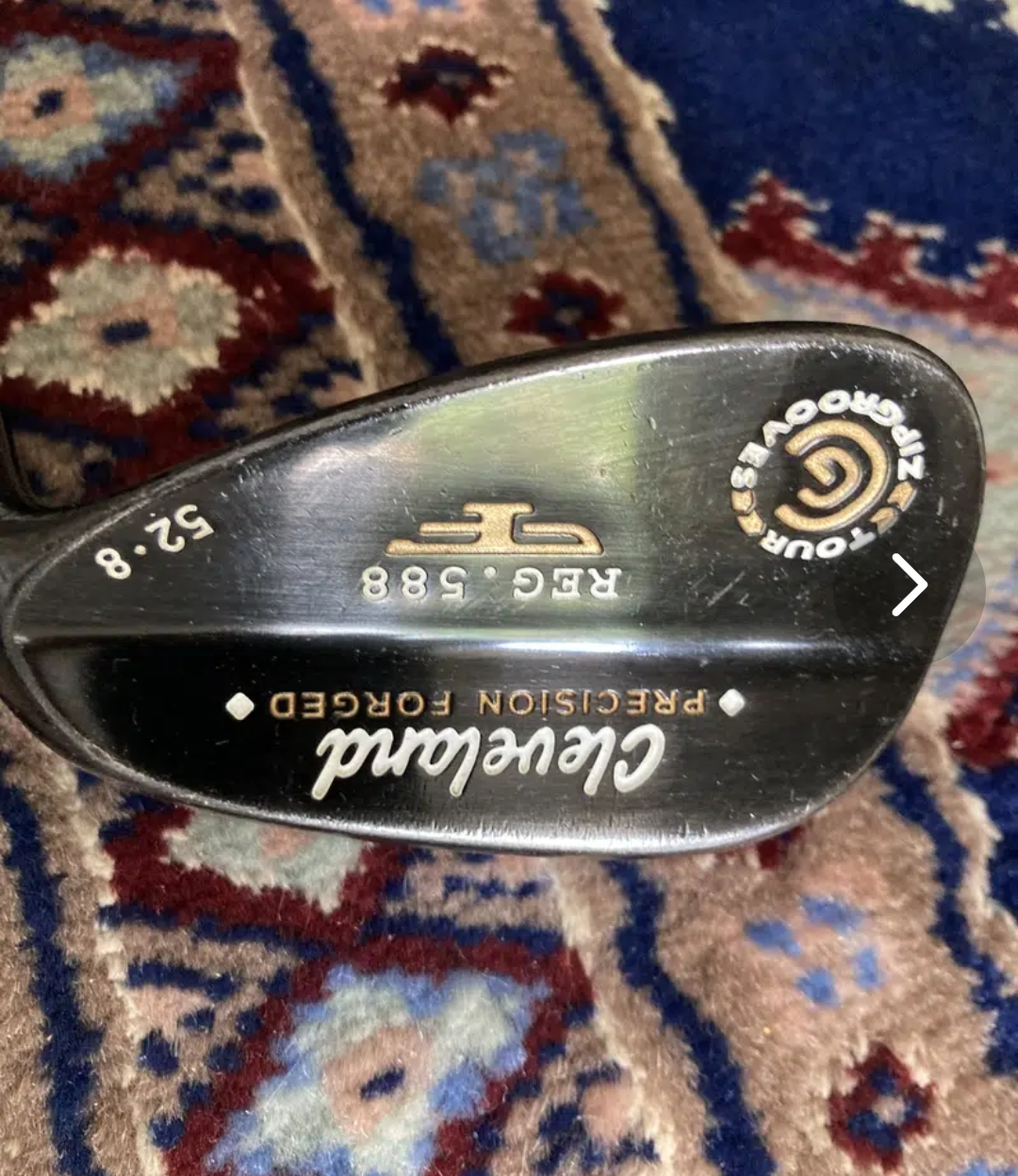 52 degrees Cleveland Wedge