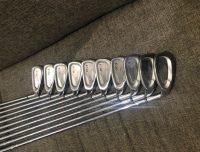 XXIO Iron set with XXIO Golf bag