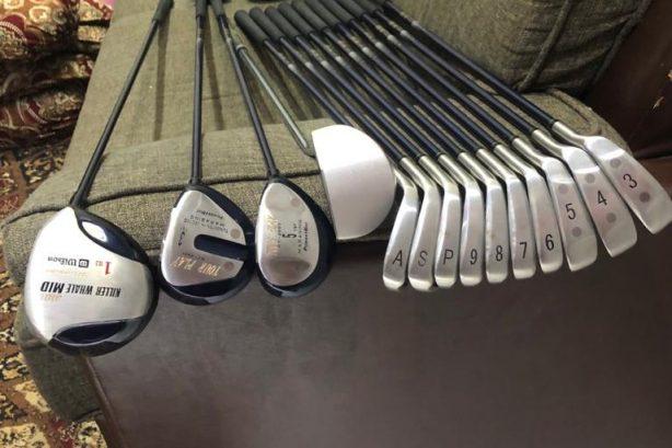 Powerbilt golf set